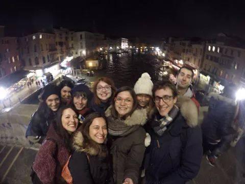 Hubby Bluewago weekend in barca a Venezia