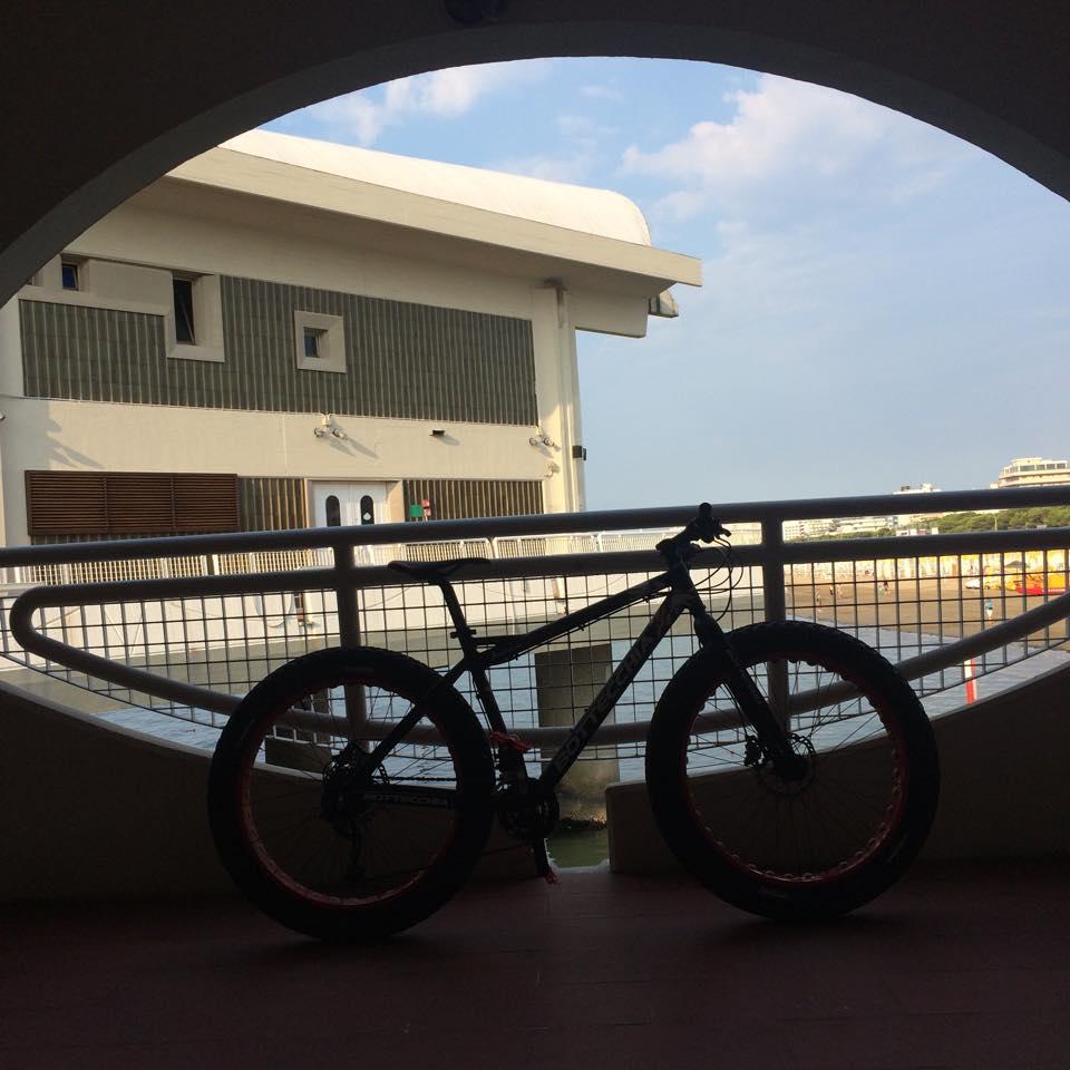 Friariella Sand Fat Bike a Lignano