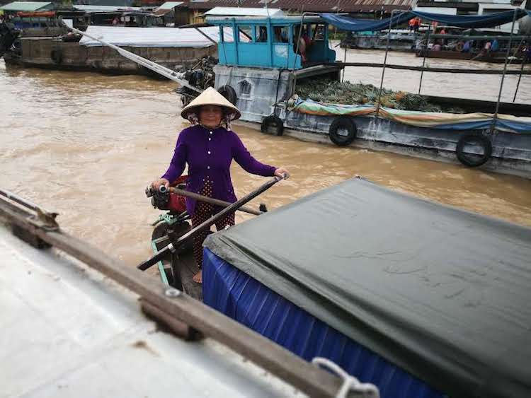 Visitare Can Tho, Cai Rang, Delta del Mekong, donna vietnamita