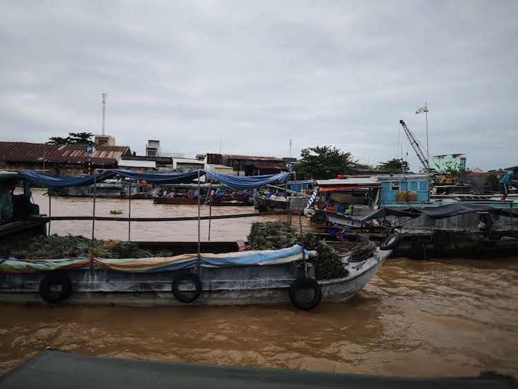 Visitare Can Tho, Cai Rang, barca