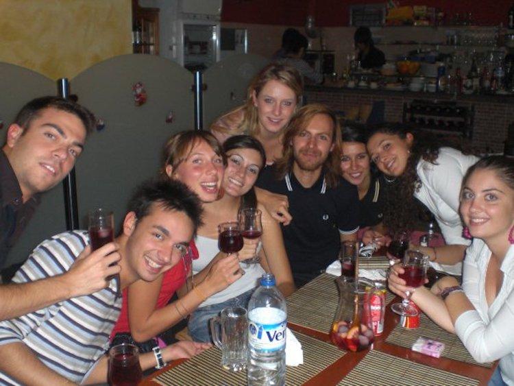 Erasmus a Barcellona, Pompeu Fabra, cena di benvenuto