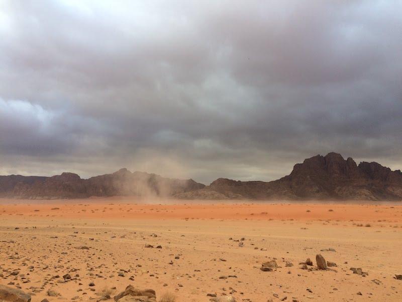 Viaggio in Giordania, deserto del wadi rum, Friariella