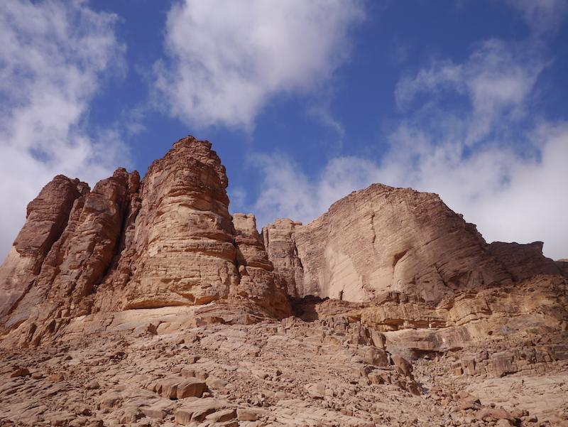 Viaggio in Giordania, Wadi Rum, Friariella