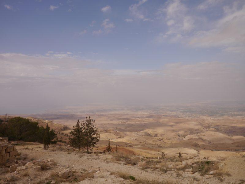 Viaggio in Giordania, Monte Nebo, Friariella