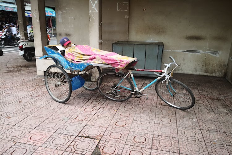 Vietnam, pisolino