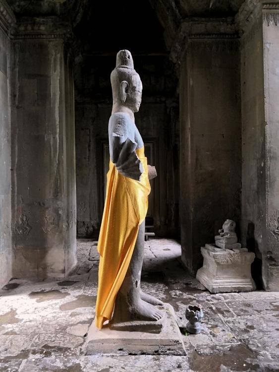 Statua di Buddha di Angkor Wat